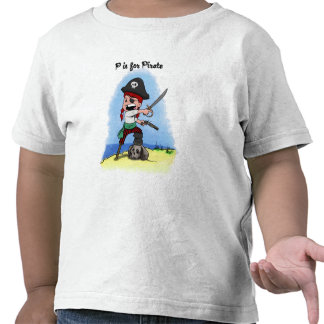 Pirate Lucy Toddlers Shirt
