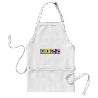 Pirate made of Elements Adult Apron