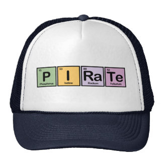 Pirate made of Elements Trucker Hat