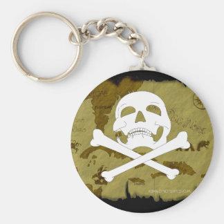 Pirate Map #1 Keychain