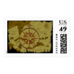 Pirate Map #1 Postage