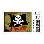 Pirate Map #1 Stamp
