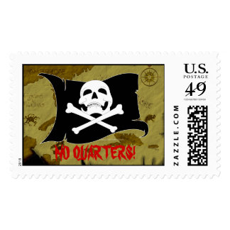Pirate Map #1 Stamp