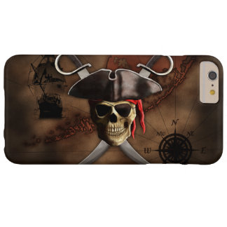 Pirate Map Barely There iPhone 6 Plus Case