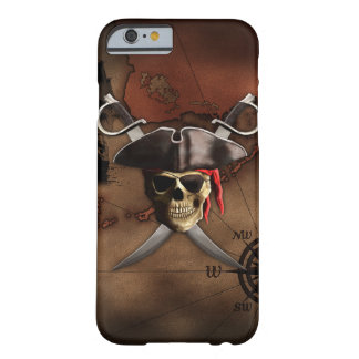 Pirate Map Barely There iPhone 6 Case