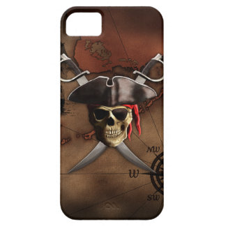 Pirate Map iPhone 5 Cases