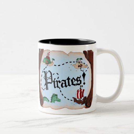 Pirate Map Coffee Mug