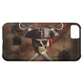 Pirate Map Cover For iPhone 5C