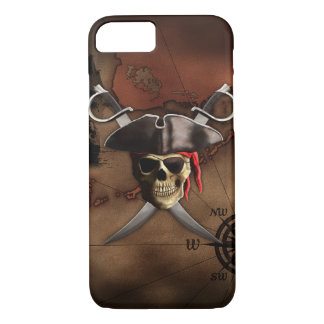 Pirate Map iPhone 8/7 Case