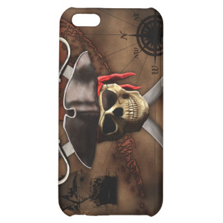 Pirate Map iPhone 5C Case