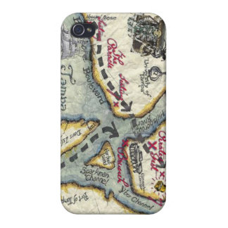 pirate map itouch cases