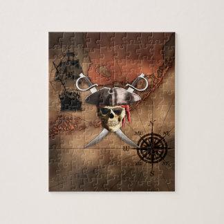 Pirate Map Jigsaw Puzzle