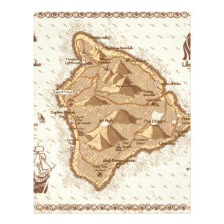 Pirate Map Letterhead