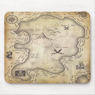 Pirate Map Mousepad