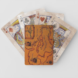 Pirate Map Playing Cards