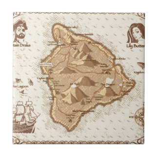 Pirate Map Tile