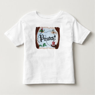 Pirate Map Toddler T-shirt