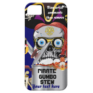 Pirate Mardi Gras Please View Notes iPhone 5 Case