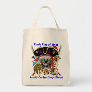 Pirate Mardi Gras Them Please See Notes Tote Bag