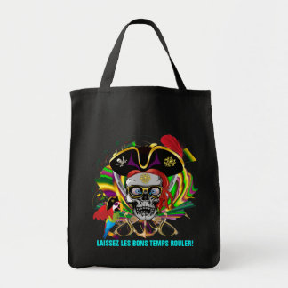 Pirate Mardi Gras Tote Bag