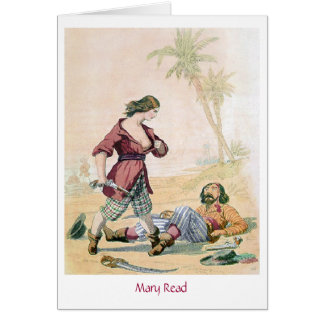 Pirate Mary Read Card
