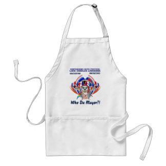 Pirate Mayor IMPORTANT Read About Design Adult Apron