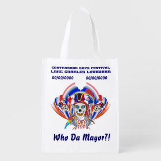 Pirate Mayor IMPORTANT Read About Design Grocery Bag