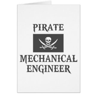 Pirate Mechanical Engineer Cards
