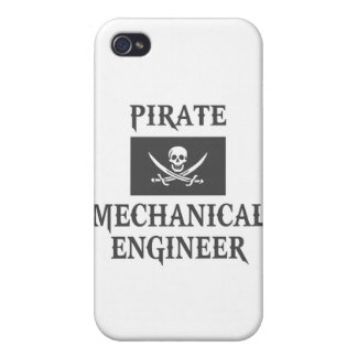 Pirate Mechanical Engineer Cover For iPhone 4