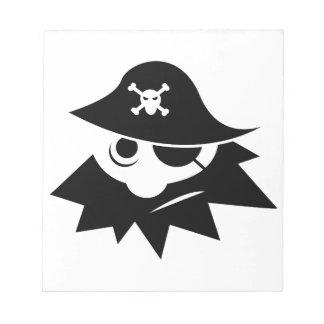 Pirate Memo Pads