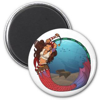 Pirate Mermaid Magnet