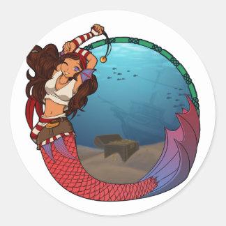 Pirate Mermaid Stickers