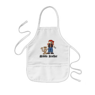 Pirate Middle Brother Apron