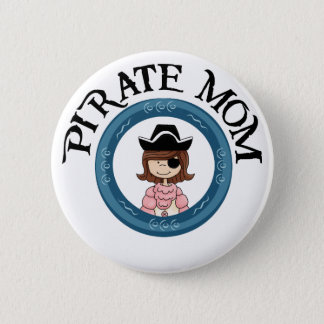 Pirate Mom Button