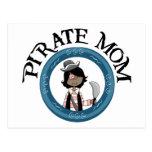 Pirate Mom Postcard