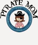 Pirate Mom T Shirt