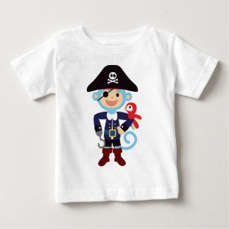 Pirate Monkey Baby T-Shirt