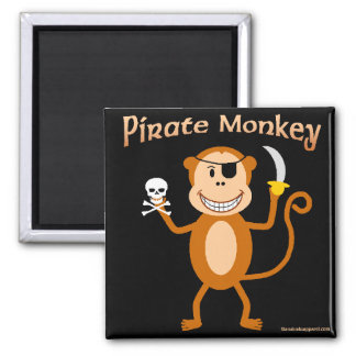 Pirate Monkey magnet