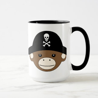 Pirate Monkey Mug