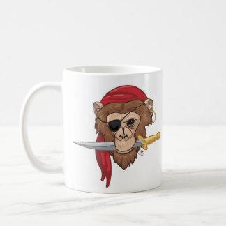 Pirate Monkey Mug