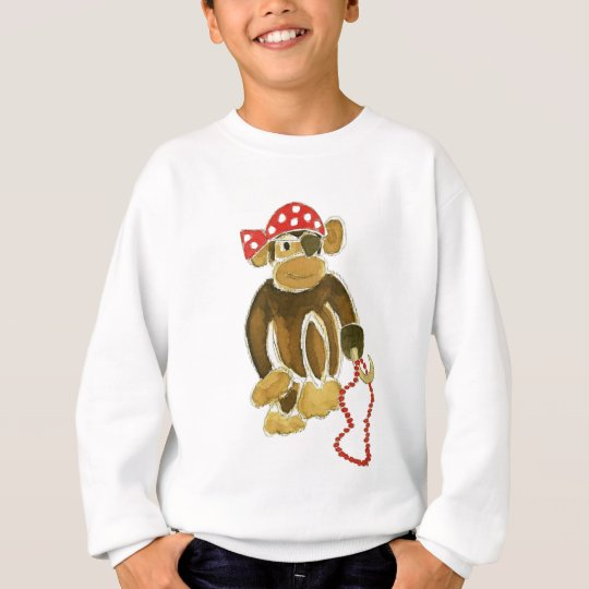 Pirate Monkey Sweatshirt