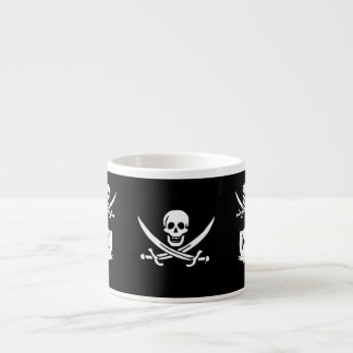 Pirate & monogram espresso cup