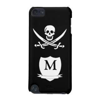 Pirate & monogram iPod touch 5G cover