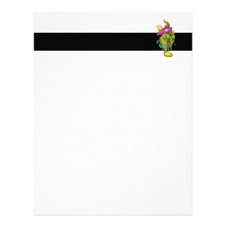pirate monster squid octopus thing letterhead