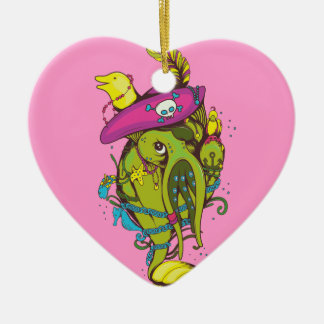 pirate monster squid octopus thing christmas tree ornament