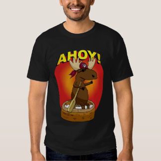 Pirate Moose Ahoy! T-Shirt