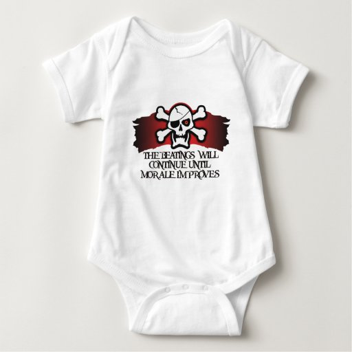 Pirate Morale Baby Bodysuit