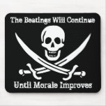 Pirate Morale Booster Mouse Pads