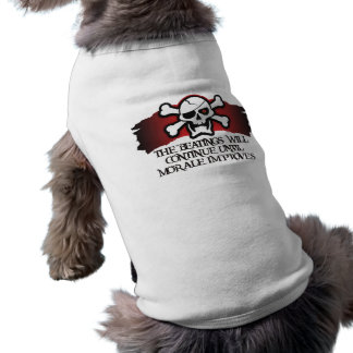 Pirate Morale Doggie T Shirt