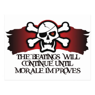 Pirate Morale Postcard